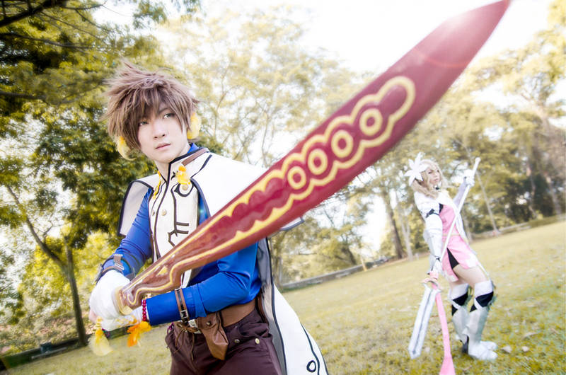 ToZ : Sorey and Alisha by naokunn
