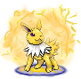 Jolteon used Discharge by francy980