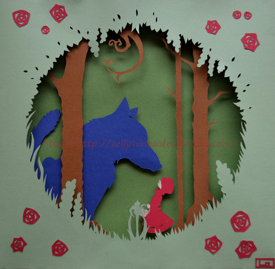 Little Red Riding Hood by Zellphinoa