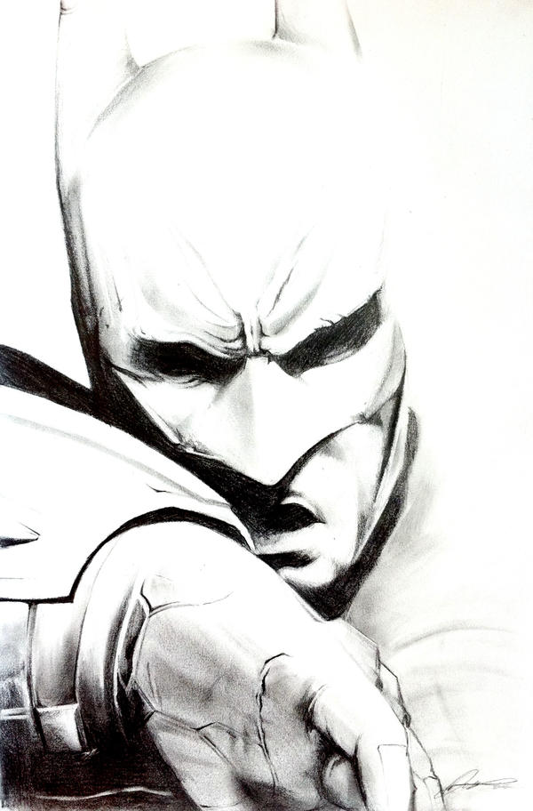 Batman - Arkham City Sketch by InkTheory-Design on DeviantArt