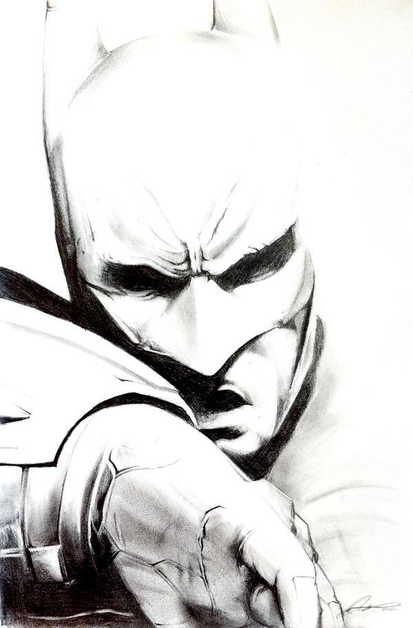Batman - Arkham City Sketch by InkTheory-Design on DeviantArt