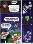 The Trust Fall: Mini Mianite Comic: Page 2