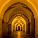 hallway - night