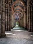 Abbey san galgano - hallway