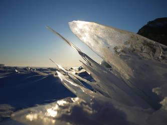 ice - lake baikal - sibiria by 8moments