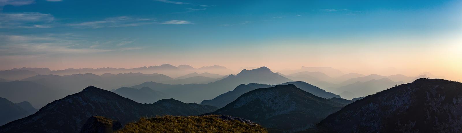 Background mountains brunnkogel blue