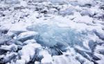 texture - broken ice