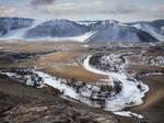 Frozen Creek - Sibiria - landscape