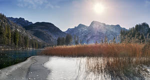 almsee, some ice and a sun