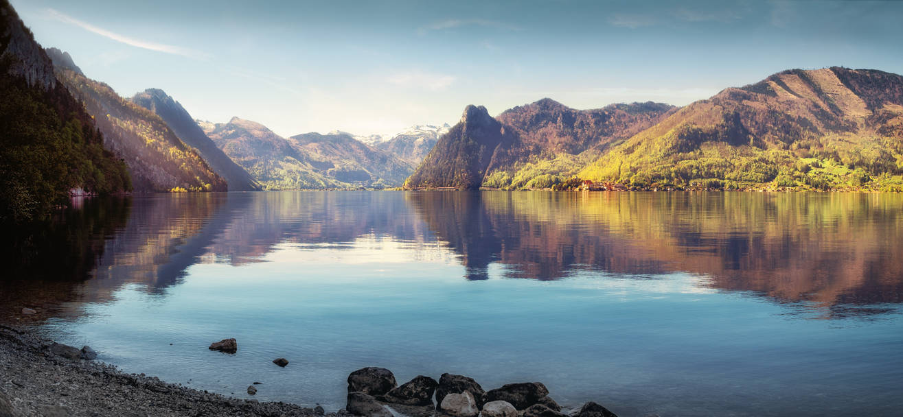 Traunsee - landscape - lake by 8moments