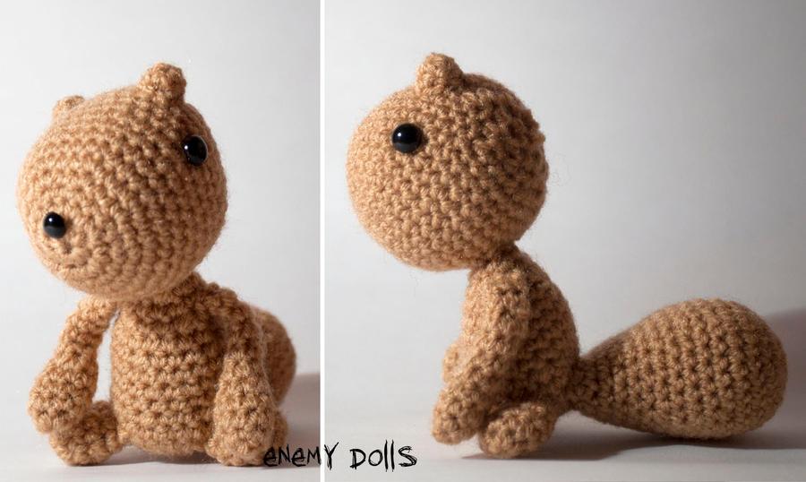 Amigurumi Squirrel Crochet Pattern : Squirrel amigurumi by Anxocunningham on deviantART