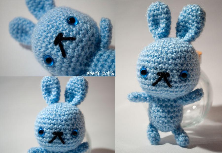 Amigurumi Bunny Knitting Pattern : Bunny amigurumi by Anxocunningham on deviantART