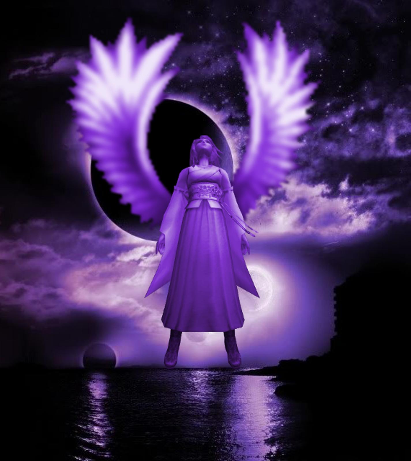 Angel of the Dark Night~~ by DressphereMasterYuna