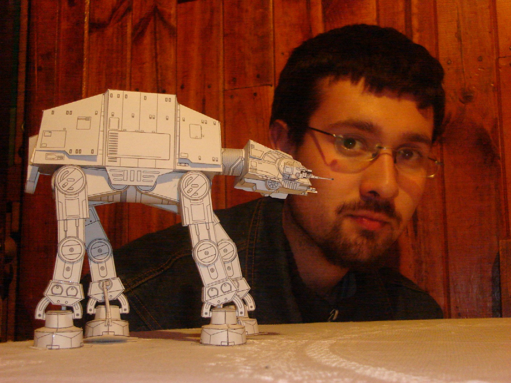 Paper Star Wars AT-AT by ryo007