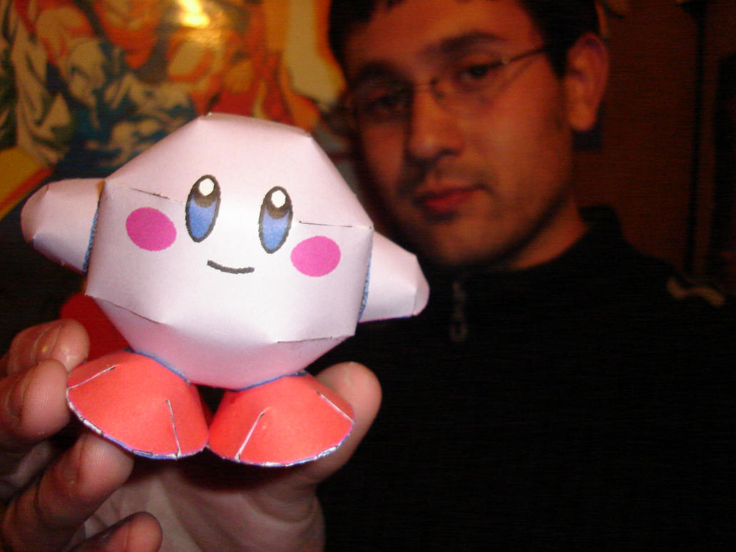 Kirby Papercraft by ryo007