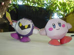Kirby-MetaKnight Papercrafts