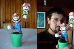 Mario Papercraft 4 in 1