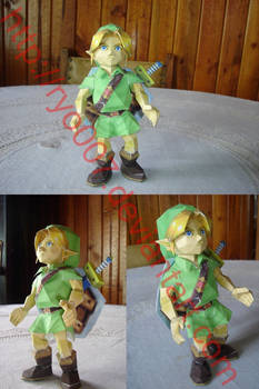 Young Link Papercraft