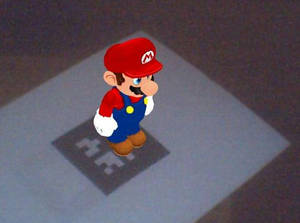 Mario in Augmented Reality