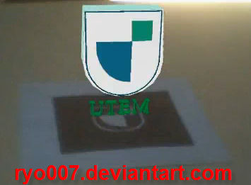 UTEM Logo in Augmented Reality