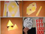 Newfags Cant Paper-Triforce