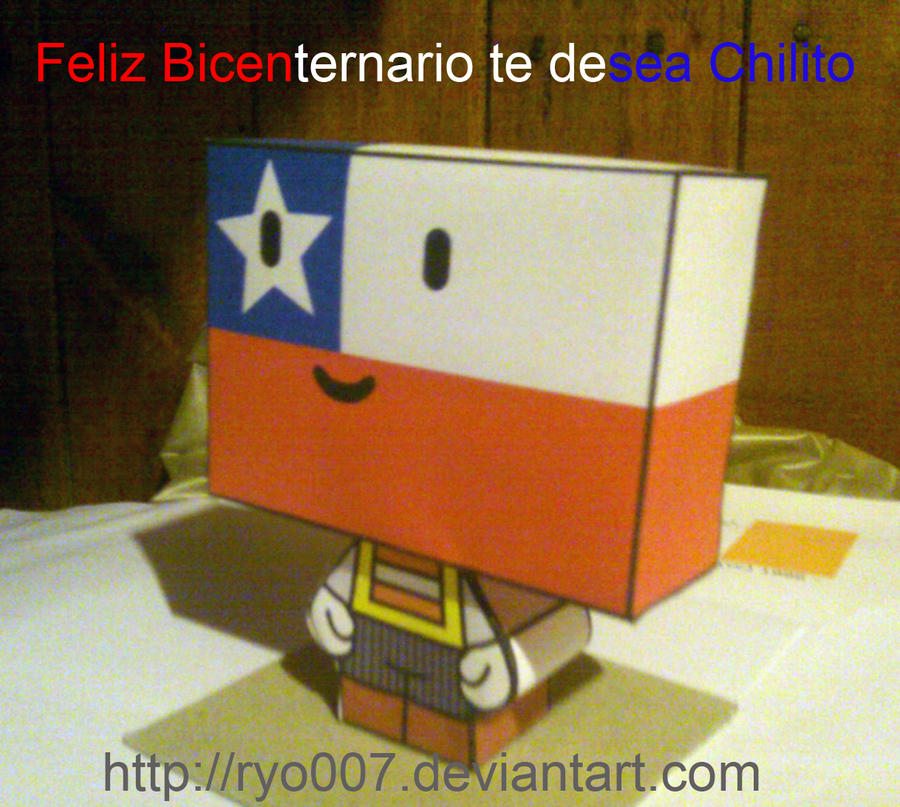 Chilito de Papel by ryo007