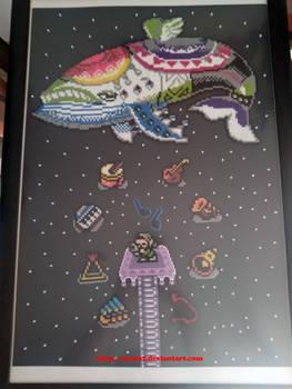 Zelda Link's Awakening Wind Fish Beads