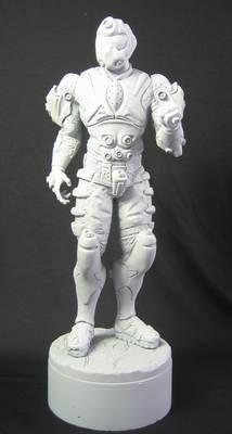 Sky Armor Sculpture 2