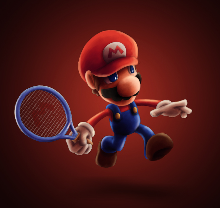 Mario Tennis! by spades4