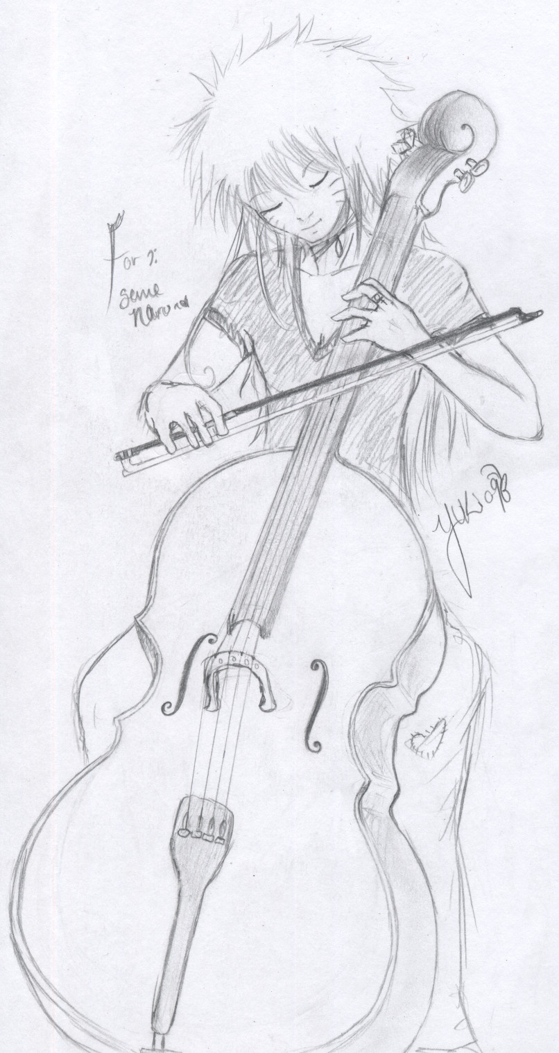 Your Love Upon a Cello... by innocent-angel11