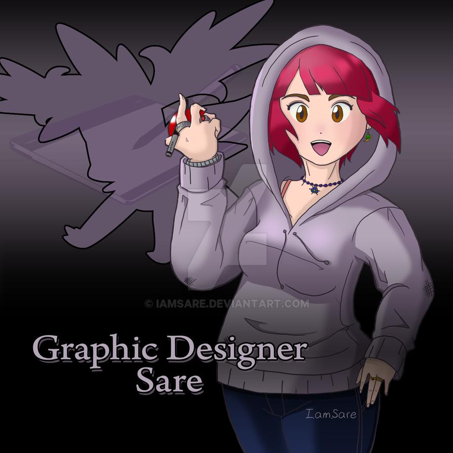 Graphic Designer Sare by IamSare