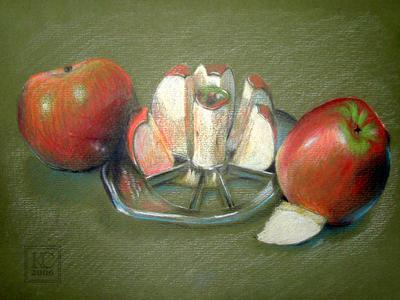 Death of an Apple by Arkyrra