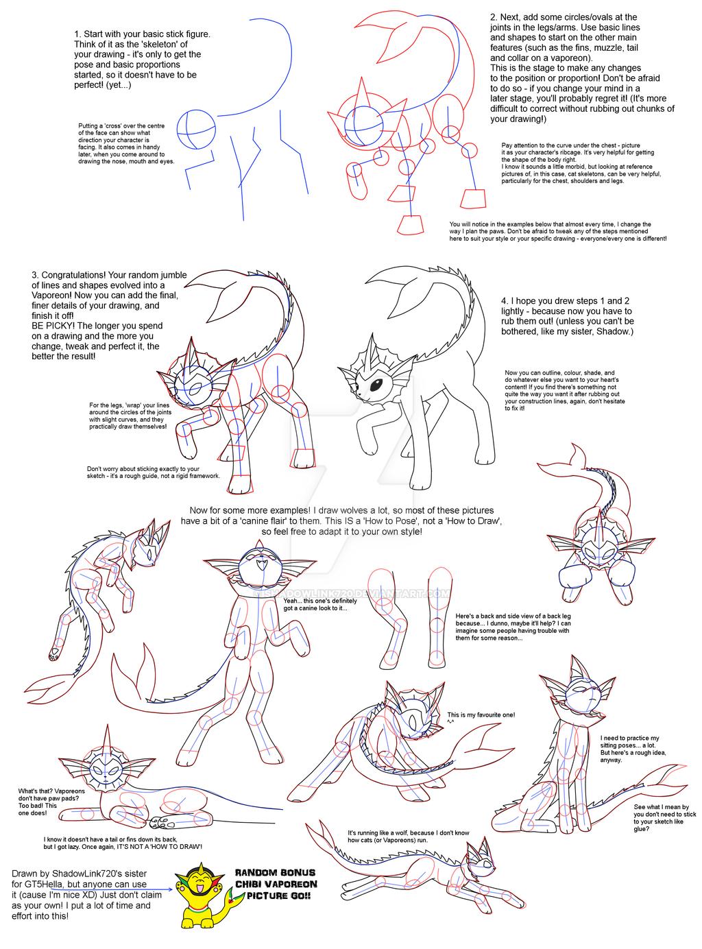 Random 'how To Pose' Tutorial! By Shadowlink720