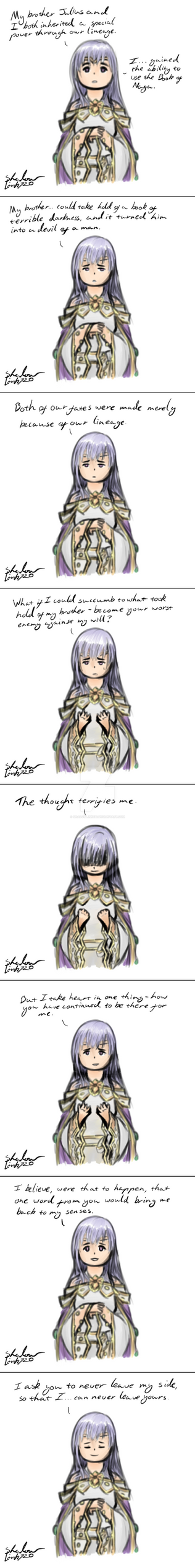 Julia's lv 40 dialogue by ShadowLink720