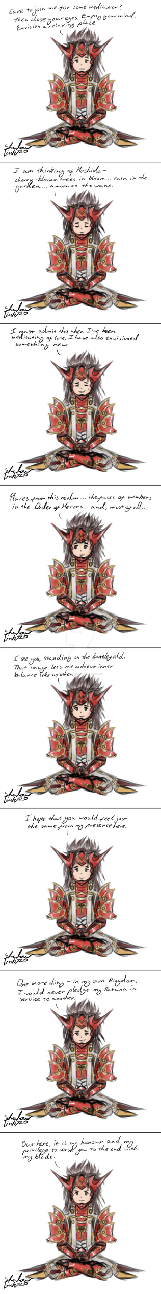 Ryoma's lv 40 dialogue by ShadowLink720