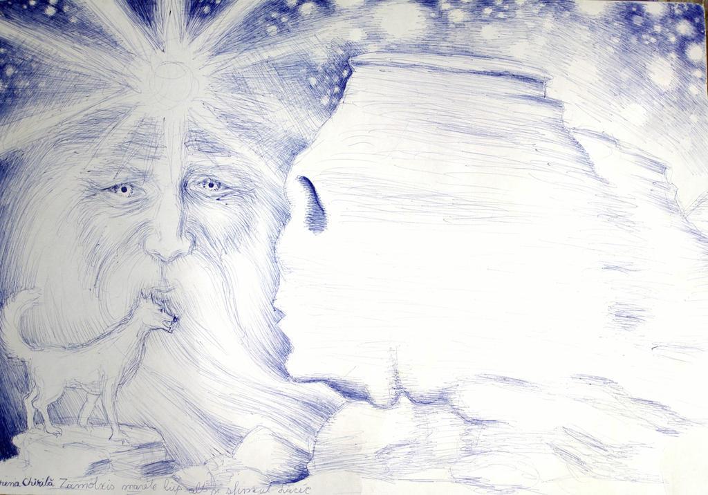 Zamolxis Marele lup alb si sfinxul din Bucegi by CORinAZONe