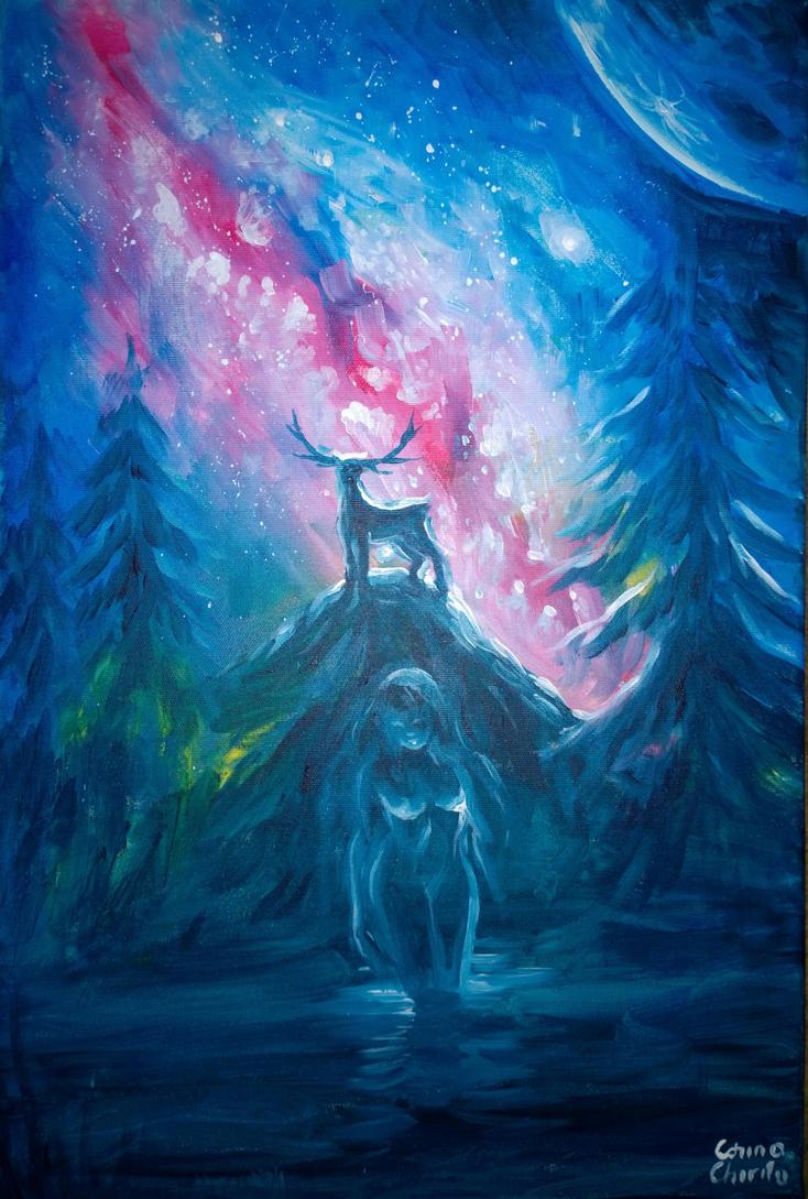 The legend of Actaeon by CORinAZONe