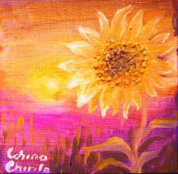 sunflower by CORinAZONe