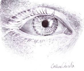 An eye by CORinAZONe