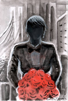 In my dream she offered me roses