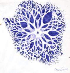 Fractal Pattern Biological Structure
