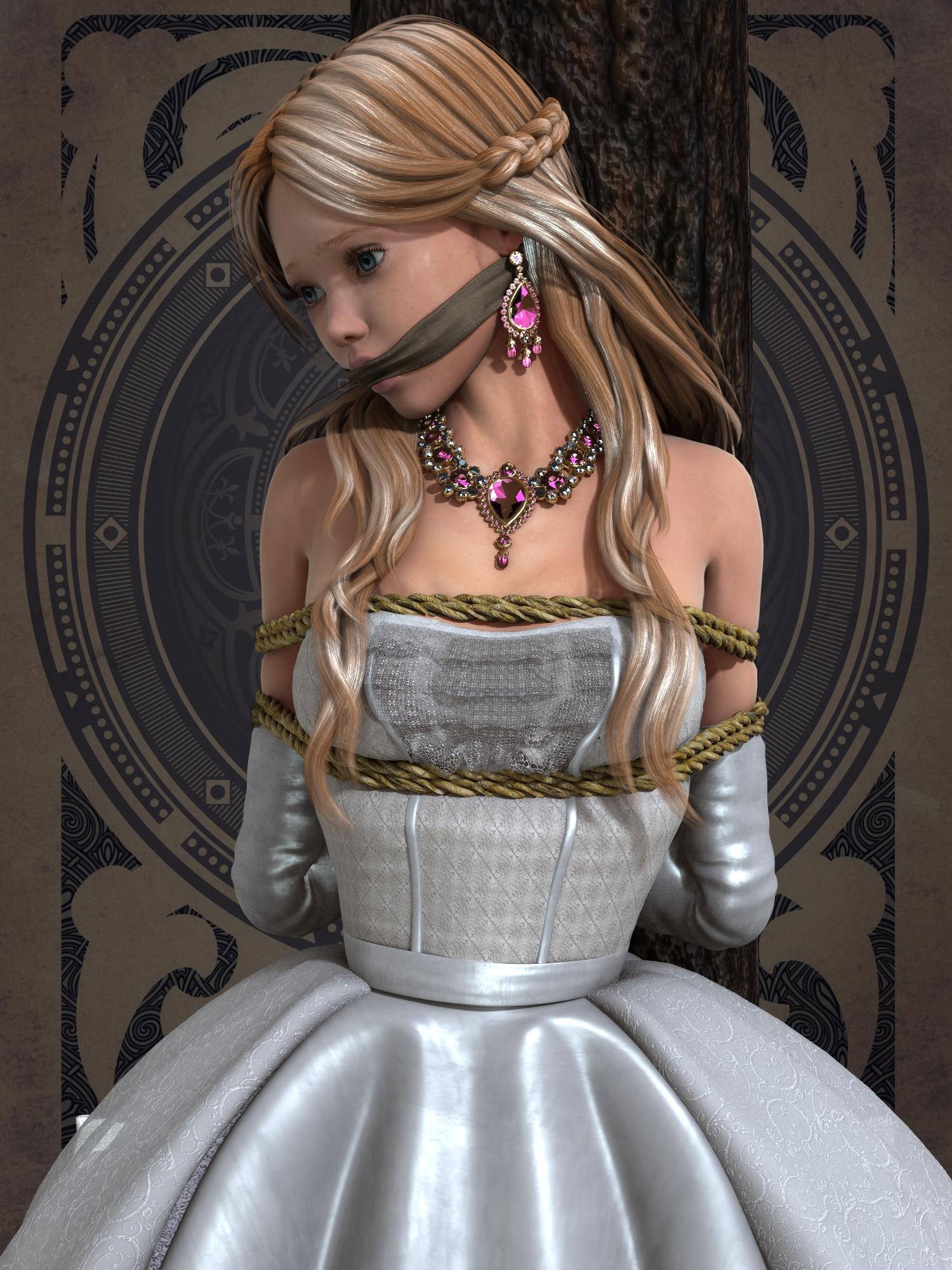 Captured Princess  6 by NoBuNoBuNoBuNoBu