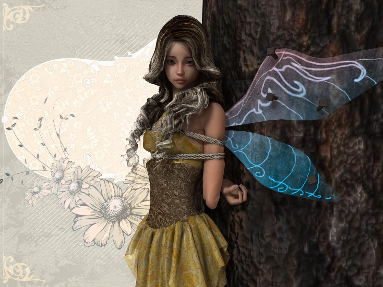 Captured fairy by NoBuNoBuNoBuNoBu