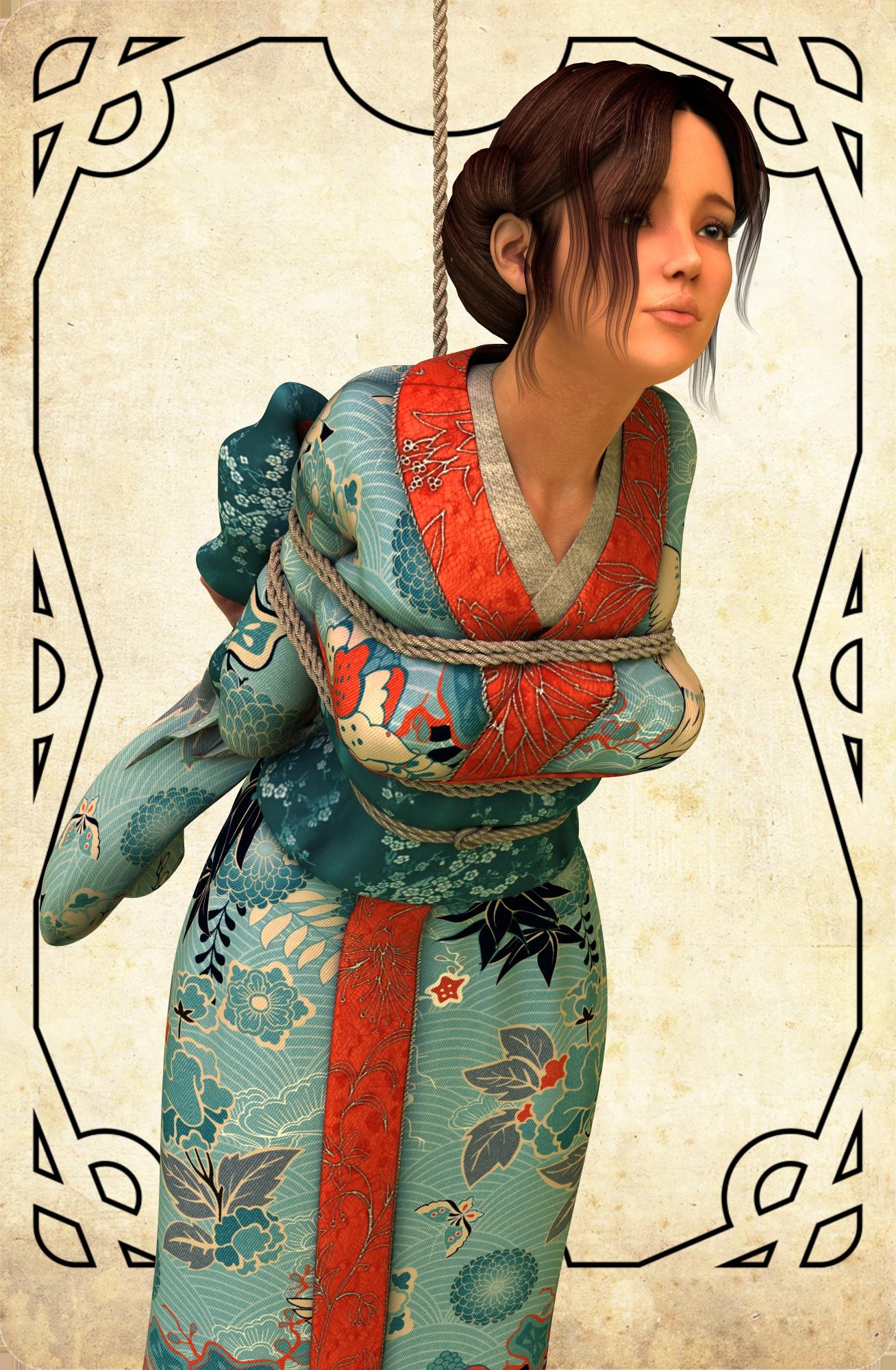 Japanese girl prisoner -2 by NoBuNoBuNoBuNoBu