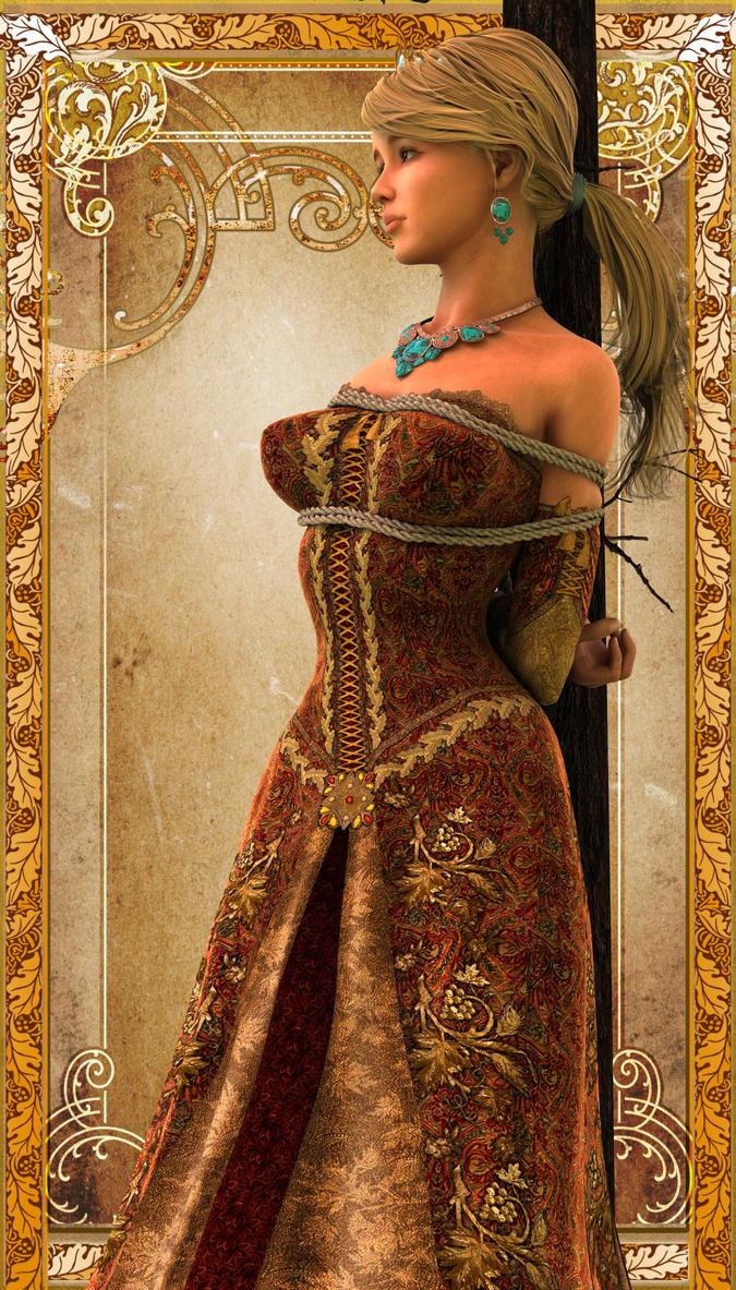 Caputred princess at war 04 by NoBuNoBuNoBuNoBu