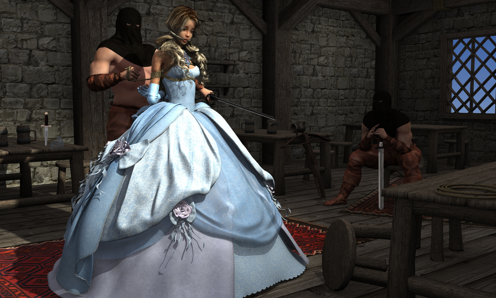 Princess sad story take1 (spot light ver) by NoBuNoBuNoBuNoBu