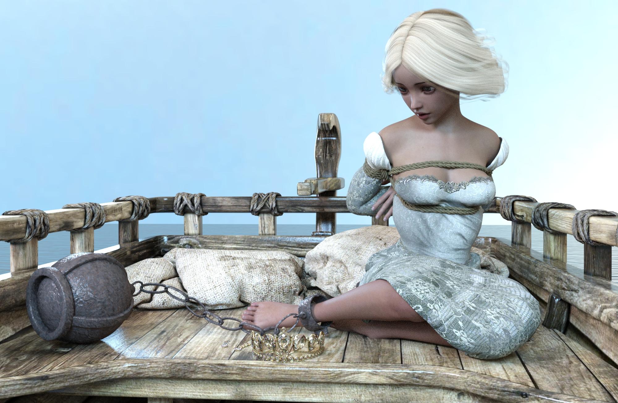 Princess fallen slave by NoBuNoBuNoBuNoBu