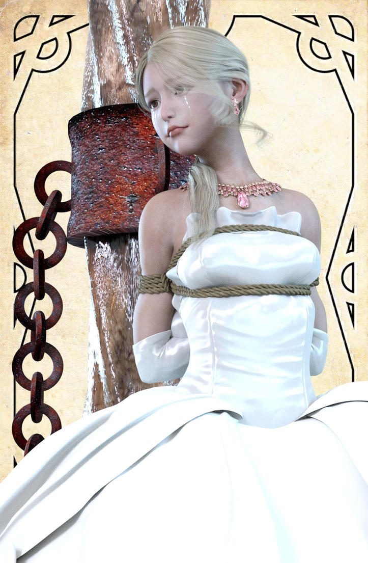 Captured princess by NoBuNoBuNoBuNoBu
