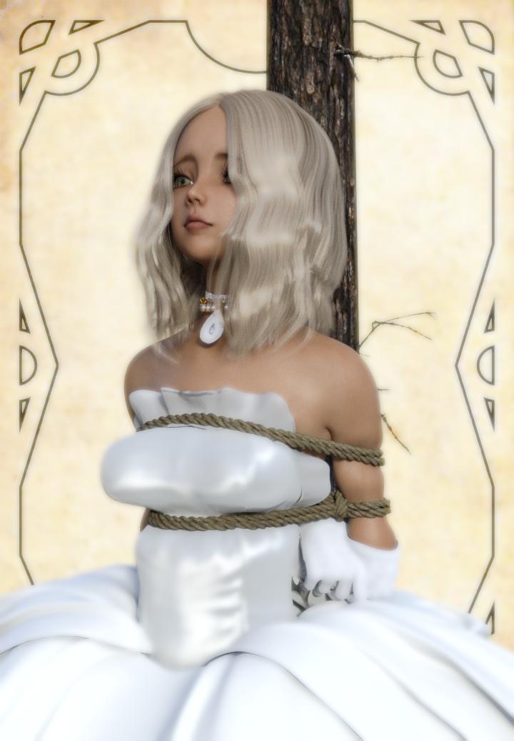Captured princess Karyssa by NoBuNoBuNoBuNoBu