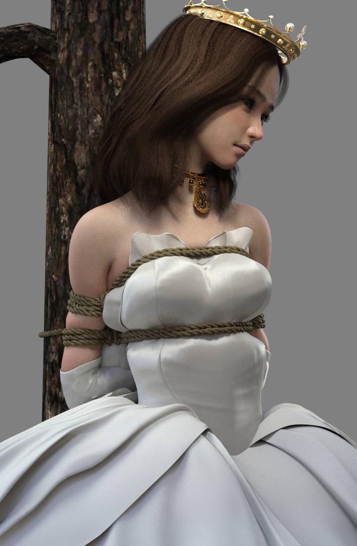 Captured princess 1 by NoBuNoBuNoBuNoBu